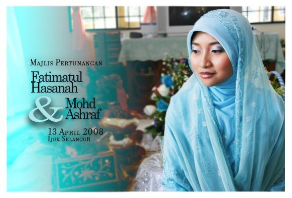 Fatimatul Hasanah & Mohd Asraf engagemen